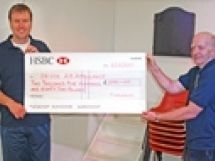 Frithelstock Cheque for �2,582